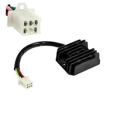 Chinese 5-Wire / 1-Plug Voltage Regulator Rectifier for Taotao ATA250D ATV - Version 45 - VMC Chinese Parts