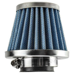 Chinese Air Filter - 42mm ID - BLUE - 50cc-125cc Dirt Bikes, ATVs, Go Karts - Version 4402 - VMC Chinese Parts