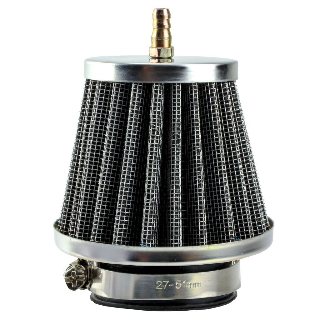 Chinese Air Filter - 38mm ID with Nipple - Version 291 - VMC Chinese Parts