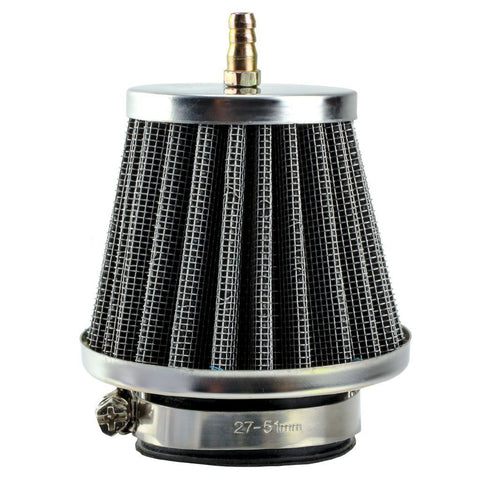 Air Filter - 38mm ID with 1/4