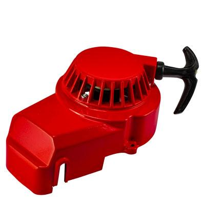 Recoil Pull Start - Aluminum - 2 Stroke - Version 7 Red