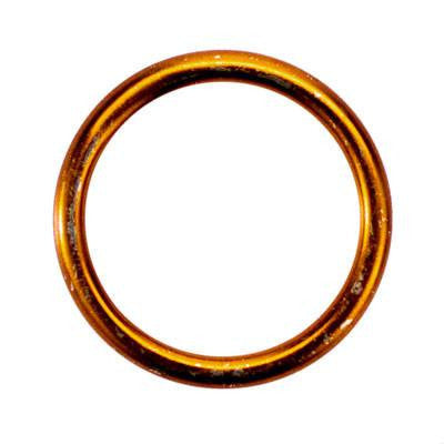 Exhaust Gasket - 33mm Brass