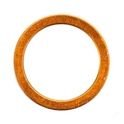 Chinese Exhaust Gasket - 40mm Brass - 110cc-250cc Engines - VMC Chinese Parts
