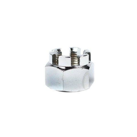 Chinese Concave Castle Nut - 12mm - M12-1.25 - Axle Nut