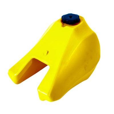 Plastic Gas Fuel Tank for Yamaha PW80 Dirt Bike - Version 80 YELLOW