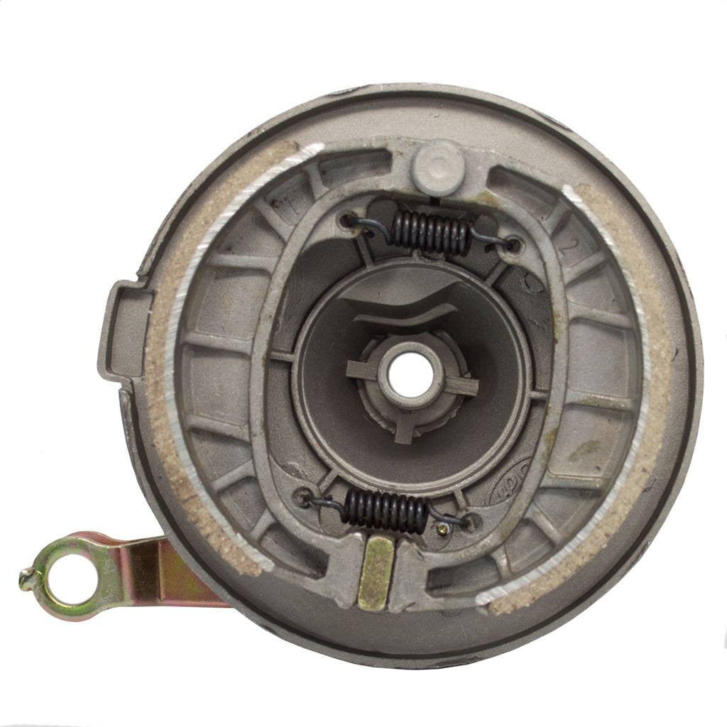 Chinese FRONT Drum Brake Assy with Backing Plate /& Shoes Taotao ATE501 Scooter