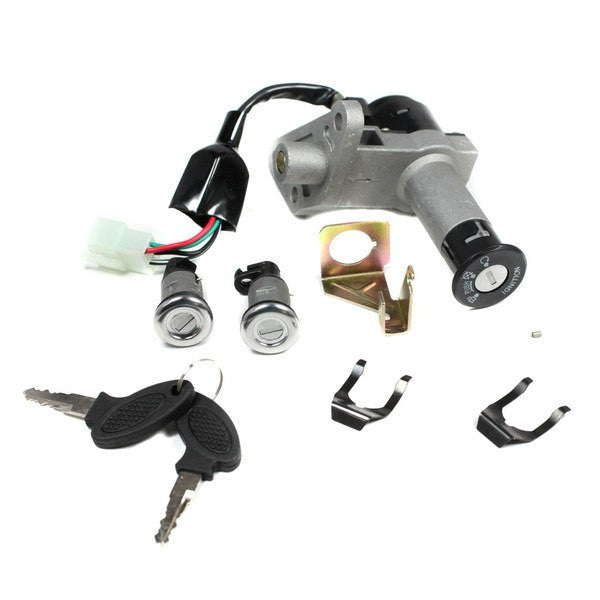 Chinese Ignition Key Switch Version 21 for GY6 150cc Scooters and Mopeds - VMC Chinese Parts