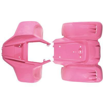 Body Fender Kit for Chinese ATV - Kazuma Meerkat Wombat - PINK