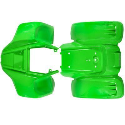Body Fender Kit for Chinese ATV - Kazuma Meerkat Wombat - GREEN