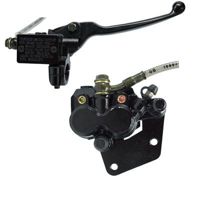 Front Brake Caliper & Master Cylinder Assy for Taotao 150 Racer Scooter - Version 150RCR - VMC Chinese Parts