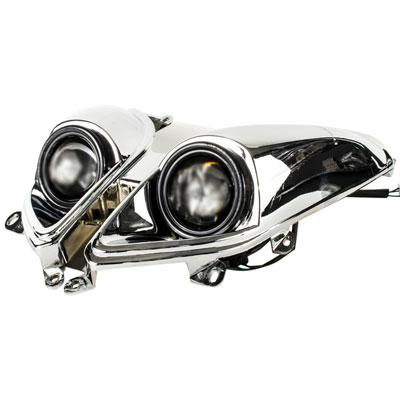 Headlight for Tao Tao CY150D Lancer Scooter - Version 24 - VMC Chinese Parts