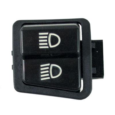 Headlight Dimmer Switch - 3 Spade Connector -  Scooters and Go-Karts