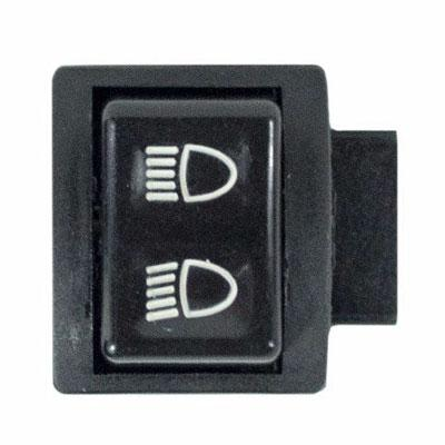 Headlight Dimmer Switch for Chinese Scooter - 3 Spade Connectors