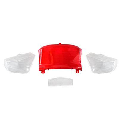 Tail Light Lens Kit for Tao Tao ATM50A/A1 Speedy Scooter - Version 444