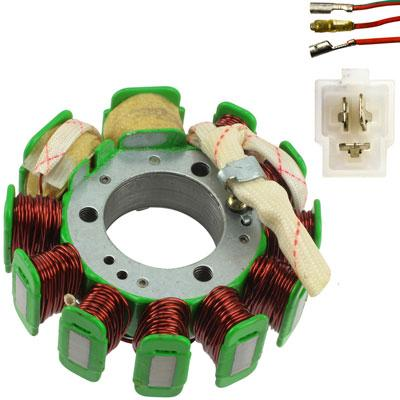 Stator Magneto -11 Coil - CH125 125cc - Version 22 - VMC Chinese Parts