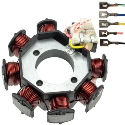 Stator Magneto - 8 Coil - Vertical 250cc - Version 11