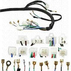complete electrical atv wiring harness 200cc 250cc  vmc chinese parts