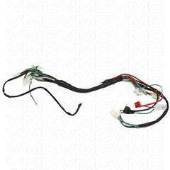complete electrical atv wiring harness 50cc