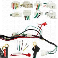 chinese complete electrical atv wire harness 50cc 125cc vmc chinese complete electrical atv wire harness 50cc 125cc