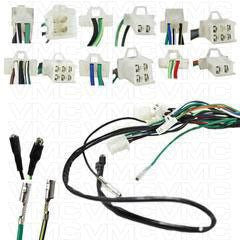 chinese complete electrical atv wire harness 50cc 125cc vmc rh vmcchineseparts com atv wire harness for sprayer baja atv 150cc wire harness