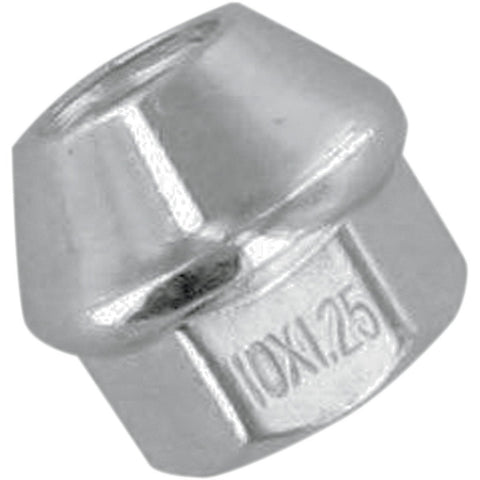 ITP Chrome Lug Wheel Nut - 10MM - 60 Degree - Honda/Yamaha - [DLUG11]