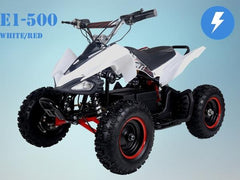 Chinese ATV 2-Piece Body Fender Kit - Taotao E1 350 and E1 500 Electric ATV - VMC Chinese Parts
