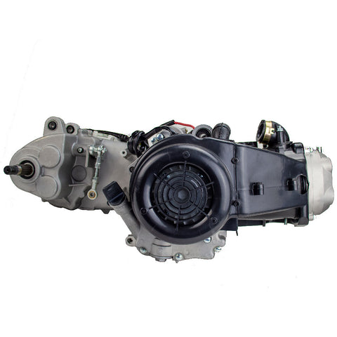 Engine Assembly - GY6 150cc Auto w/ Reverse for Go-Karts - Version 9