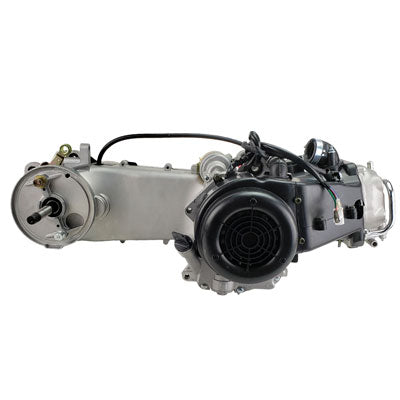 Engine Assembly - GY6 150cc Long Case for Scooters - Version 13 - VMC Chinese Parts