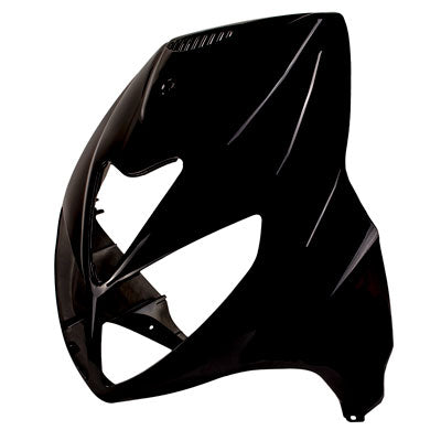 Face Panel / Headlight Housing Panel for Jonway Scooter -Black