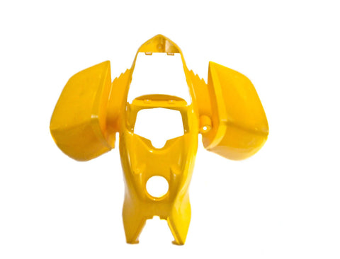 Clearance Chinese Kazuma Falcon ATV Front Fender - Yellow
