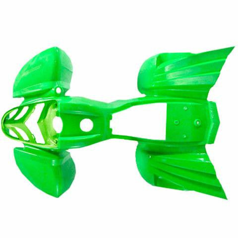 Body Fender Kit for Chinese ATV - Kazuma Mini Falcon - GREEN - VMC Chinese Parts
