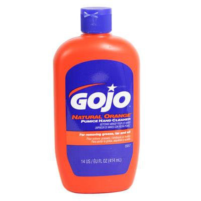 GoJo Natural Orange Pumice Hand Cleaner 14 oz.  Tool Box Size!