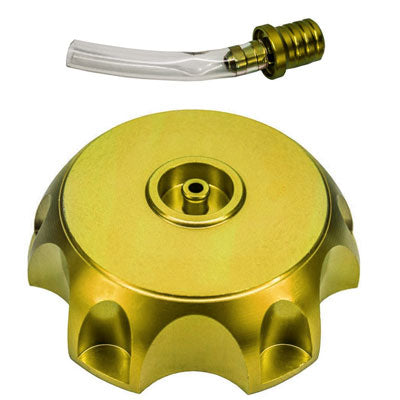 Gas Tank Cap - 50mm - Metal - GOLD - Version 70