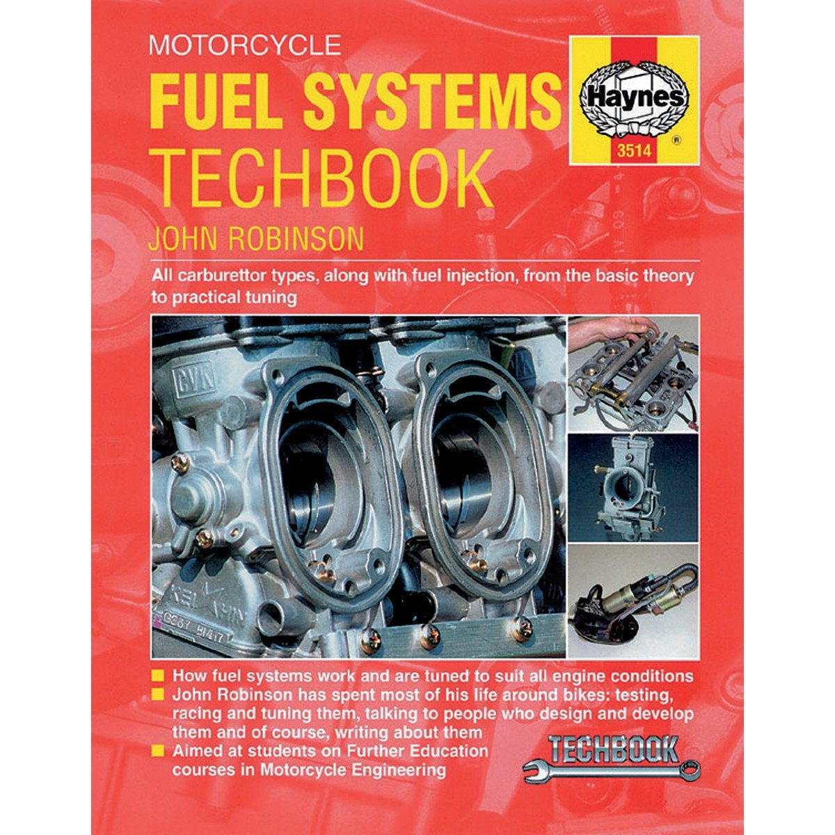 Haynes Motorcycle Fuel Systems Manual - 3514 - Chinese Japanese Carburetor  & Fuel Injection - VMC