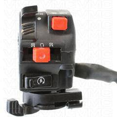 9 Wire LH Handlebar Starter Switch with Choke Lever - ATV Version 21 - VMC Chinese Parts
