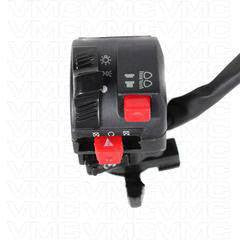 Chinese Handlebar Starter Switch - 9 wire - ATV Version 21 with Choke Lever - VMC Chinese Parts