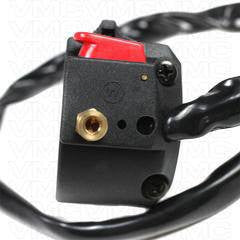 9 Wire LH Handlebar Starter Switch - ATV Version 55 - VMC Chinese Parts