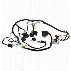 Complete Electrical ATV Wiring Harness 150ccVMC Chinese Parts