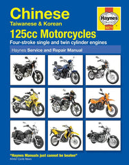 Haynes Motorcycle Manual - 4871 - Chinese Taiwanese & Korean - 125cc - VMC Chinese Parts