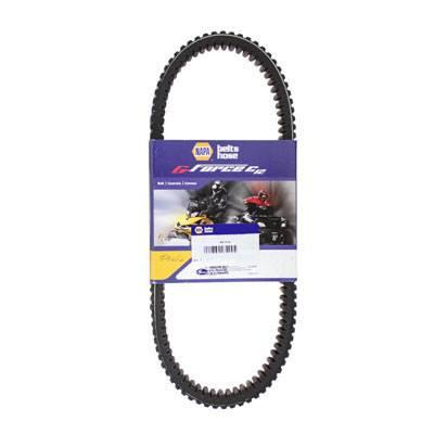 Heavy Duty Drive Belt for Ski-Doo, Arctic Cat, Kawasaki and Lynx Snowmobiles - Gates / Napa G-Force 42G4266