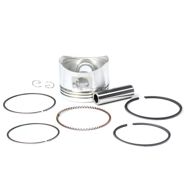 Piston Kit - 52mm - 110cc 125cc Horizontal Engine - VMC Chinese Parts