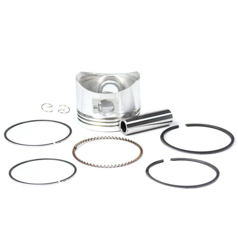 Piston Kit - 52mm - 110cc  Horizontal Engine