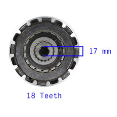 Chinese Clutch Assembly - 18 Teeth - 50cc-110cc Semi Auto - Version 3 - VMC Chinese Parts