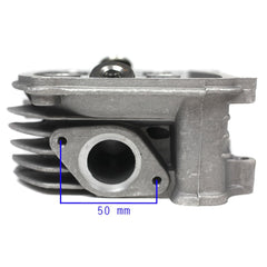 Chinese Cylinder Head Assembly - 57mm - 150cc ATVs - Version A - VMC Chinese Parts