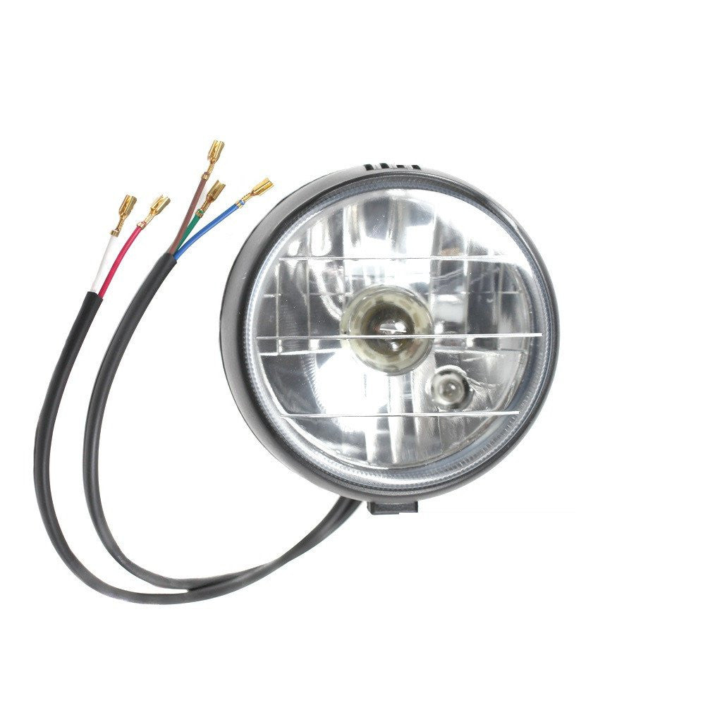 Chinese Headlight - Version 75 - for 110cc-250cc - VMC Chinese Parts