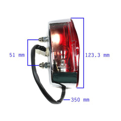 Chinese ATV Tail Light - Version 45 - Kazuma Dingo Falcon - VMC Chinese Parts