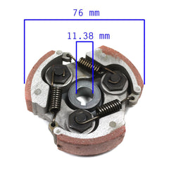 Chinese Clutch Shoe Assembly - 2 Stroke - 47cc 49cc Pocket Bike - Version 39 - VMC Chinese Parts