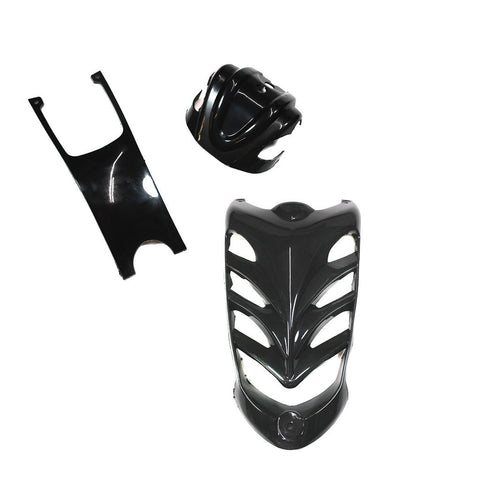 Body Accessory Kit - 3-Piece VX Style ATV - Black