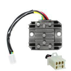 Voltage Regulator - 5 Wire / 1 Plug for 250cc - Version 2 - VMC Chinese Parts