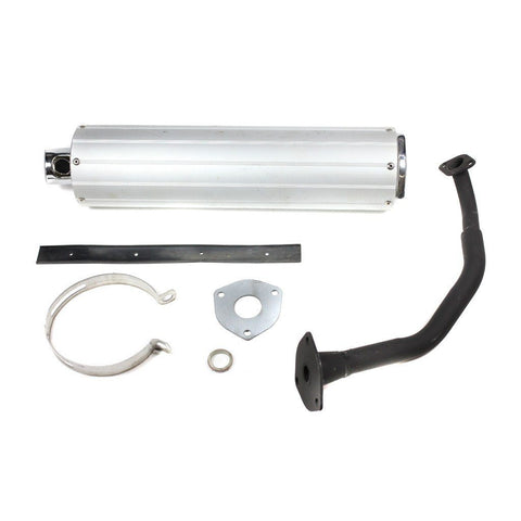 Exhaust System / Muffler with Catalyst for GY6 125cc 150cc Chinese Scooter